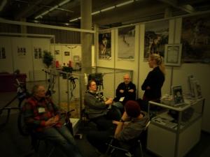 Møte i sedelighets utvalget i NSHK  — with Terje Dietrichson, Stine Oppegaard, Terje Frode Bakke, Marius Wæhle and Lina Stabbetorp.