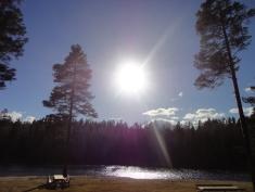 Endelig sol !
