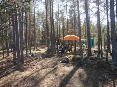 Camp tresjøen